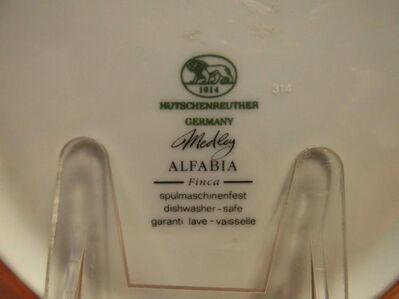 Hutschenreuther Medley Alfabia Finca Suppenteller / Porzellan Teller tief, NEU - Zeuthen
