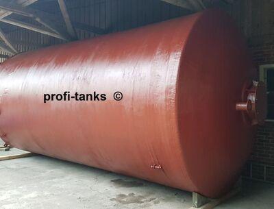 P64 gebrauchter 46.000 L Polyestertank GFK-Tank Skoda-Tank Lagertank Wassertank Regenauffangtank Futtermitteltank Rapsöltank Flüssigfuttertank Gülletank - Nordhorn