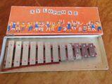 DDR Xylophon ca.1970 / Kinder Instrument, Spielzeug / 12 Töne / Ostalgie