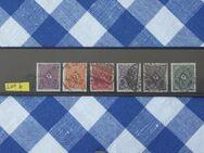Posthorn  Freimarken 1922 gemischt,Lot6