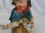 Porzellan Nachtwächter Rauchverzehrer Figur beleuchtet aus Omas Haushalt - Hennef (Sieg) Zentrum