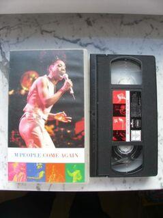 VHS Musik Video M People Come Again Videokassette 5,- - Flensburg