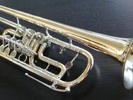 B & S Goldmessing / Neusilber Konzert - Trompete inkl. Koffer - Hagenburg