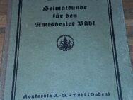 Heimatkunde für den Amtsbezirk Bühl - Für Schule und Haus. Gebundene Ausgabe v. 1926, Konkordia - Rosenheim