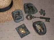 Sieben Bronze Artikel Dürer Bilder Relief Korkenzieher Alt 1940 / 1950 - Bottrop