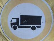 Verkehrszeichen Verbot für LKW, 600mm - Bad Belzig Zentrum