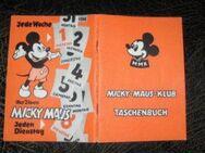 Zwei Micky Maus Klub Taschenbuch Orange 1970 Micky Maus Klub Ausweis 1970 - Bottrop
