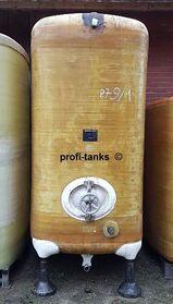 P79 gebrauchter 6.000 L Polyestertank GFK-Tank Juno-Tank Wassertank Rapsoeltank Futtermitteltank Melassetank Molketank Regenauffangtank AHL-/ASL-Tank Sickersafttank Lagertank