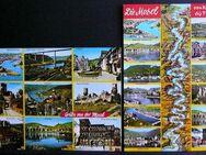 2 alte Postkarten mit Ansichten von der Mosel - Niederfischbach