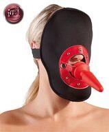Kopfmaske mit Knebel mit Analplug