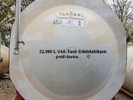 V10 gebrauchter 32.000 L Edelstahltank V4A isolierter Transporttank Inox Stahl AISI 316L auf Stahlgestell Chemietank Chloride Wasserstoff Wärmetank - Nordhorn