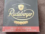 Glasuntersetzer Set Radeberger 4er Set. - Kassel