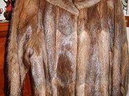 Pelzjacke Bisam Rücken - Erkrath (Fundort des Neanderthalers)