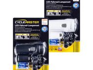 CYCLEMASTER  LED-Fahrrad-Lampenset CYCLEMASTER LED Fahrradbeleuchtung Frontleuchte + Rückleuchte Fahrradleuchte NEU - Rellingen