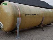 P132 gebrauchter 20.000 L Polyestertank GFK-Tank Juno-Tank Lagerbehälter Wassertank Rapsöltank Melassetank Flüssigfutter Regenauffangtank Gülletank - Nordhorn