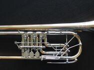 Meister J. Scherzer Profiklasse Konzert - Trompete 8218W-L mit 2 Überblasklappen + Doppeltrigger Neu