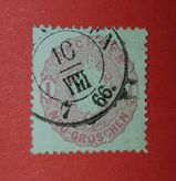 AD-Sachsen 1 Groschen 1866,MI:DE 16,  Lot 593