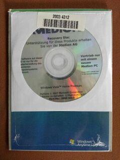 Windows Vista Home Premium original verschweißt. - Kassel Brasselsberg