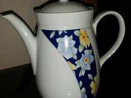Wunsiedel Bavaria Teekanne mit Blütenmotiv 21 cm