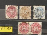 Preußen 5xSilbergroschen 1864-1867 Mi.Nr.16,17,18,Lot 18
