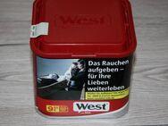 West Red Tabak Stopftabak Feinschnitt Volumentabak Zigaretten Dose 45g NEU - Sonneberg