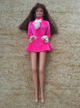 Alte Barbie mit Stempel 1976 von Mattel