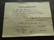 Verpflegungsausweis Dezember 1918 - Overath