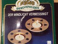 """2 x Teelichthalter Messing mit Weihnachtsmotiv """" Neu """" - Verden (Aller)"""
