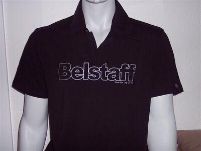 orig. Herren Belstaff kurzarm Polo T- Shirt - Drakenburg