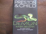 "1 Thriller von Preston & Child  ""Demon"" Sumpf der Toten Gebunden"