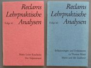 Reclams Lehrpraktische Analysen, Folge 61+62 - Münster