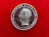 Silbermünze 500 Lire Italien 1981 zum 2000. Todestag des Dichters Vergil - Mannheim