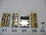 Je 2 GU-Schließplatten für Stulpfl.,4mm Falzl.,gelb chrom.,GU-Schließplatte für Kantriegel,4mm Falzl - Ritterhude