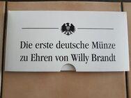 Die erste deutsche Münze zu Ehren Von Willy Brandt - Kassel