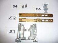 MACO-Bandwinkel 18-9,silber,+Öffnungsbegrenzer mit Platte 11070/36170 - Ritterhude