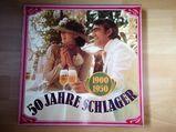 LP 50 Jahre Schlager 6 Schallplatten Vinyl 1900-1950