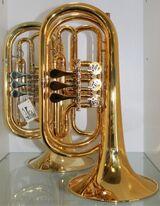 Professionelle Basstrompete in Bb. Mod. Melton 129 GL. Einzelanfertigung