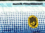 Größere Fahne DPG Deutsche Post Gewerkschaft - Material : Polyester - Größe ca. 240 x 150 cm - Groß Gerau