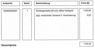 Gold, Gold, Gold 585er - Friedrichsdorf