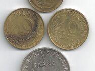 Münzen Frankreich 1938 bis 1969 - Bremen