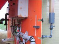 P53 - Polyestertank 5,7-10 m³ GFK-Tank Mischtank Soletank inkl. Mischstation Mischbehälter Speideltank stehend - Nordhorn