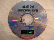 ✨ CD 100.000 Gruß- & Glück-Wunschkarten CD-ROM rondomedia 23233 - Ettlingen