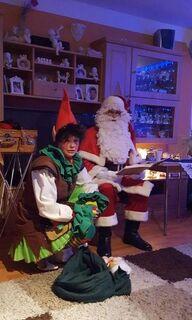 Nikolaus  Weihnachtsmann mit Elf - Oberhausen
