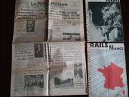 2 Rails de France Hefte plus einer Zeitung  Le Petit von 1936/37 abzugeben - Baumholder Zentrum