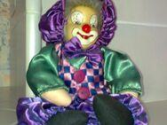 Porzellanpuppe Clown – handgearbeitet - neu - Burgwald