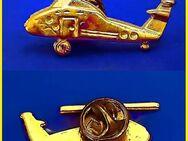 Anstecker - HUBSCHRAUBER - ABZEICHEN - vergoldet - 34x15mm - Nürnberg