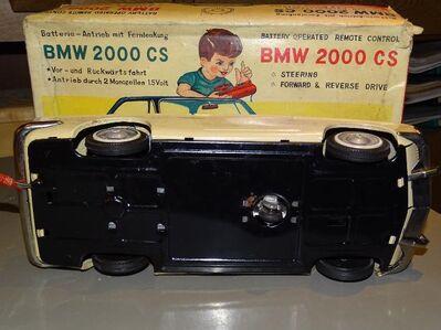 BMW 2000 CS Bandai Japan inkl. Karton Batteriebetrieben Nr. 12810 Blechspielzeug - Spraitbach