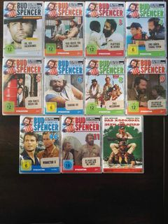 DVD Bud Spencer und Terence Hill 11x - Leck