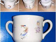 Doppelhenkeltasse Kindertasse aus Oma's Zeit Tasse für Kinder Triptis Porzellan - Nürnberg