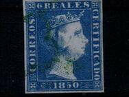 Spanien 6 Real Isabella II.,1850,Mi:ES 4 ,Lot 1268 - Reinheim